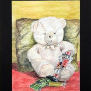 Decija soba - akvarel